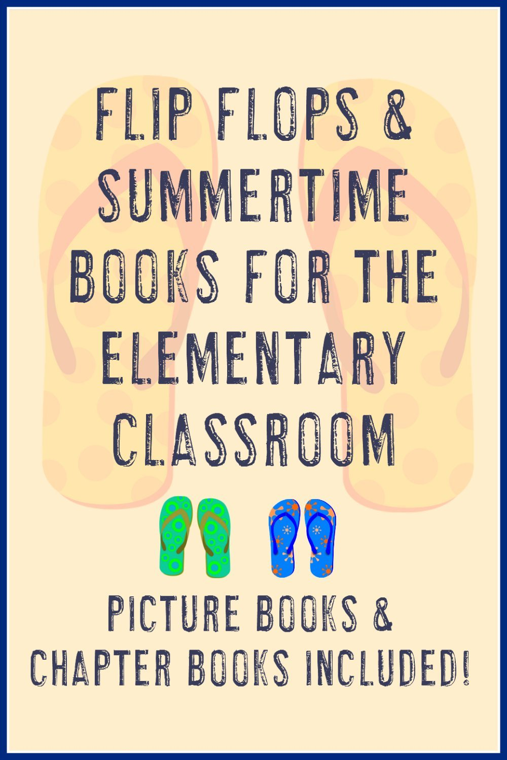 Flip Flop & Summer Book Ideas