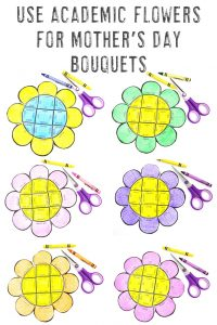 Click to see all six literacy flower puzzle options!