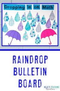 Raindrop Bulletin Board