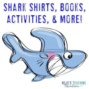 Click to go to my shark activities blog post!