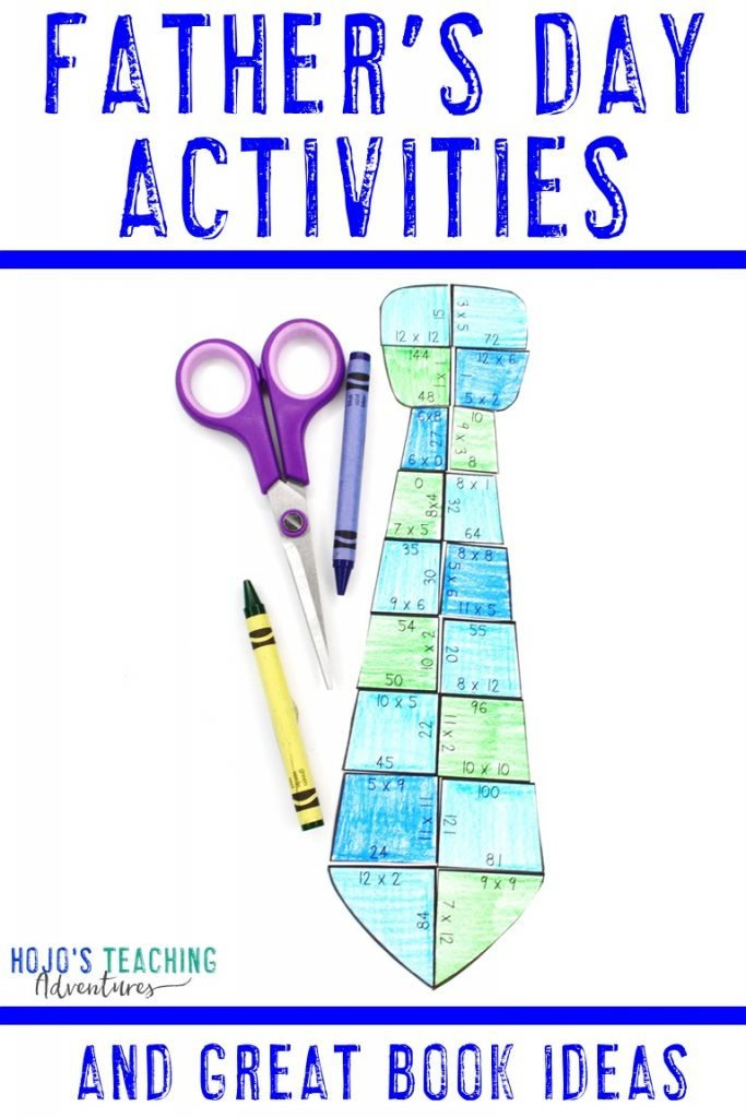 Father's Day Activities and Great Book Ideas