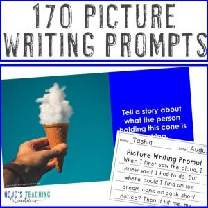 Click to buy picture writing prompts from HoJo's TpT store!