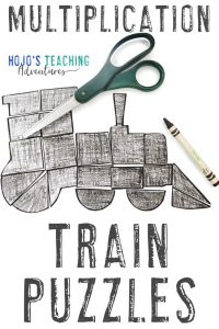 Click to get your MULTIPLICATION Train Puzzle Activities!