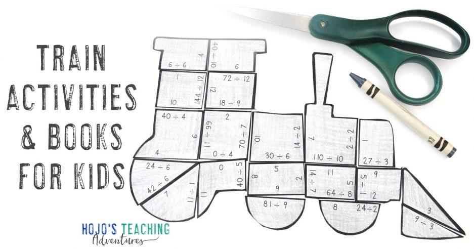 Train Activities for Kids & Books too!