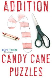 Click to grab your own ADDITION candy cane puzzles!