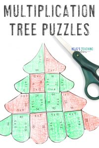 Click to buy your own Multiplication Tree Puzzles!