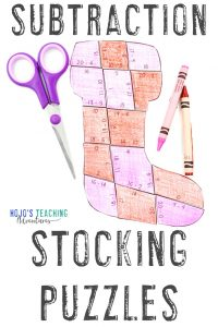 Grab your own subtraction stocking activities by clicking here!