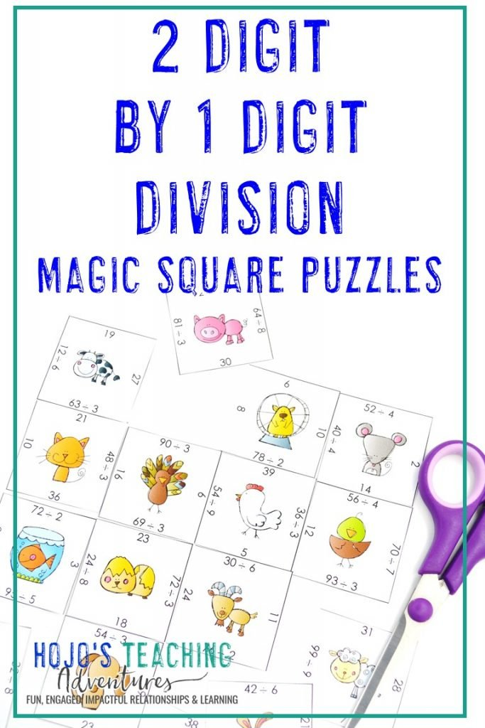 Click to get this FREE 2 Digit by 1 Digit Division Puzzle!
