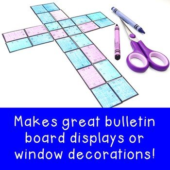 Subtraction Cross Puzzles Great For A Religious Or Christian Bulletin Board Hojo S Teaching Adventures Llc